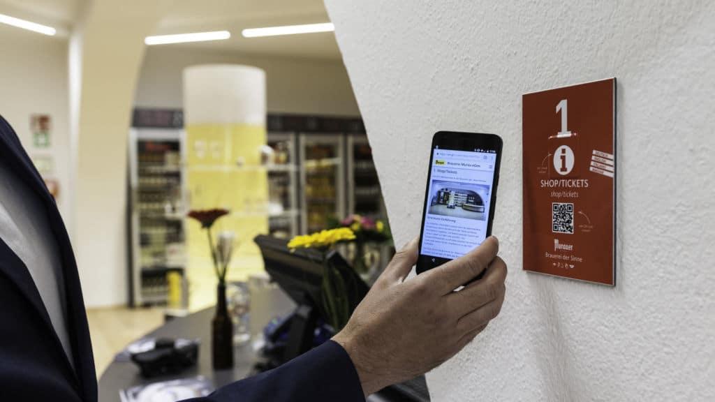 NFC und QR im Museum