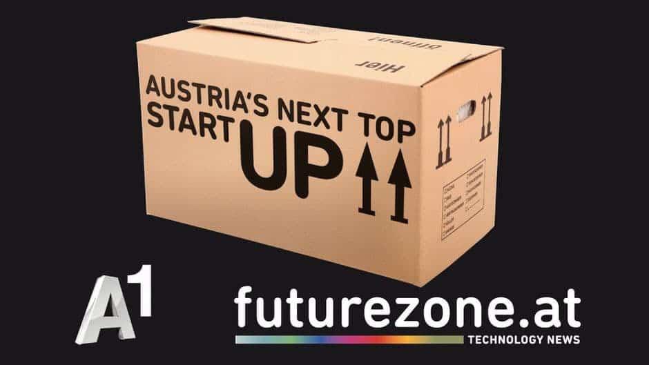 Sujet des Wettbewerbs A1 Austrias next top startup futurezone