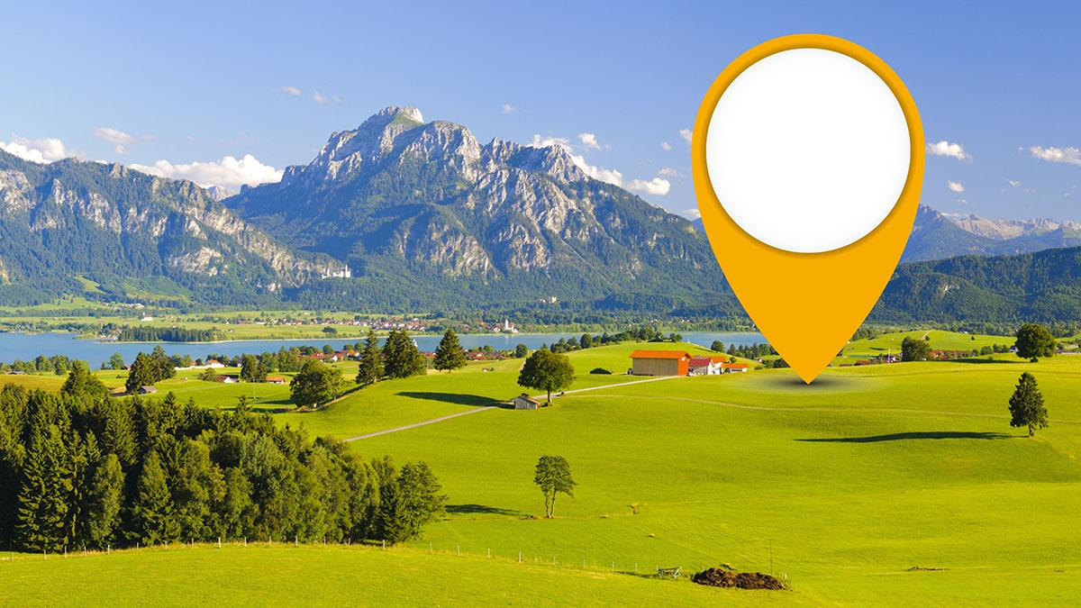 marketing with location based services at POIs