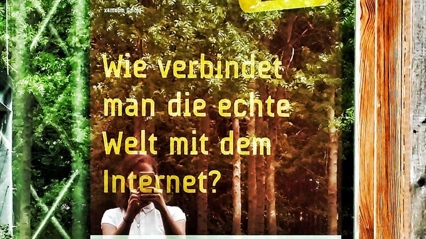 Forschungsfrage: Wie verbindet man die echte Welt mit dem Internet?