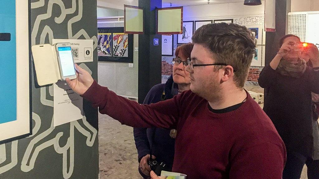 NFC und QR im, Museum