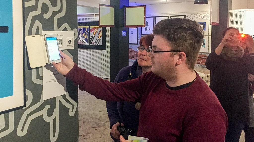 NFC und QR in the museum