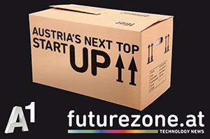 Logo vom A1-Futurezone Wettbewerb