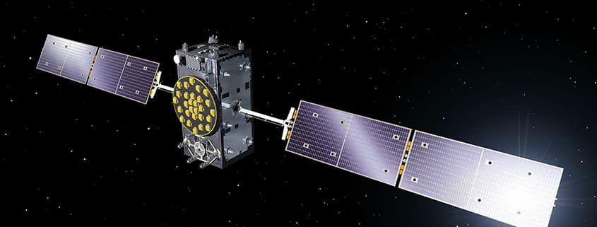 Artist's impression of a Galileo satellite