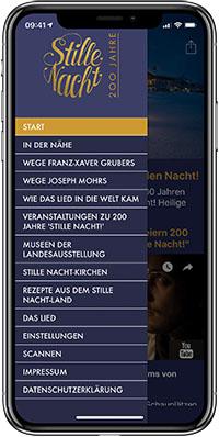 iPhone App 200 Jahre Stille Nacht
