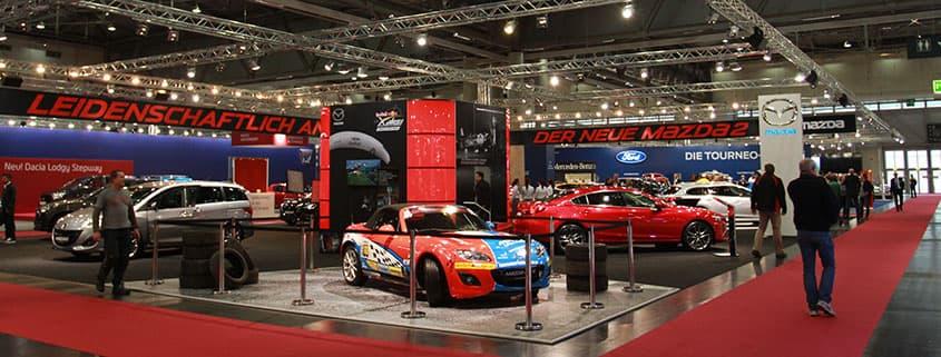 Mazda Stand at Vienna Auto Show 2015