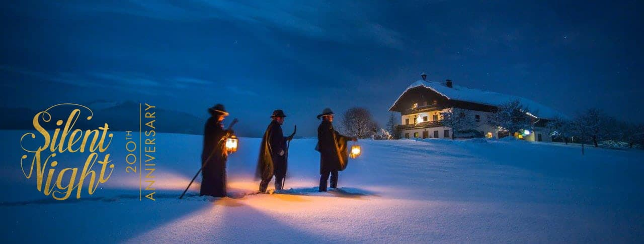 200th anniversary silent night - traditional Anklöcker