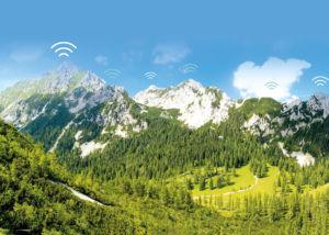 The Karawank Mountains between Austria and sLOVEnia
