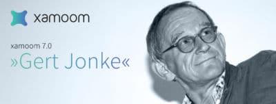 Photo of the Carinthian author Gert Jonke