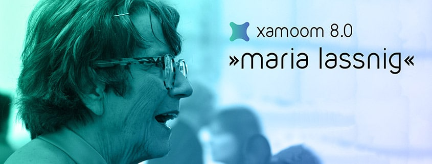 Maria Lassnig, Paetron of xamoom 8.0