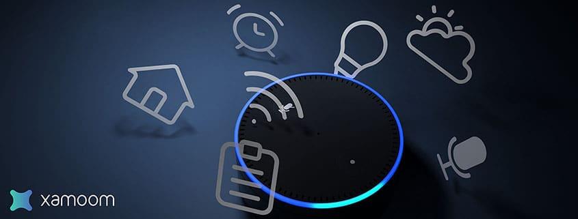 xamoom loves Amazon Echo Alexa