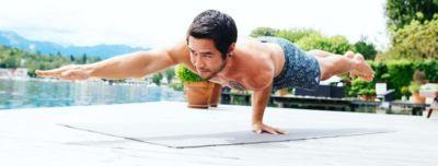 a yoga artist