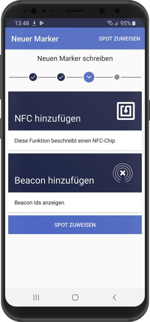 Werkzeuge in der xamoom Service App