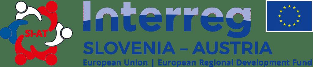 English logo of the Interreg program between Austria and Slovenia