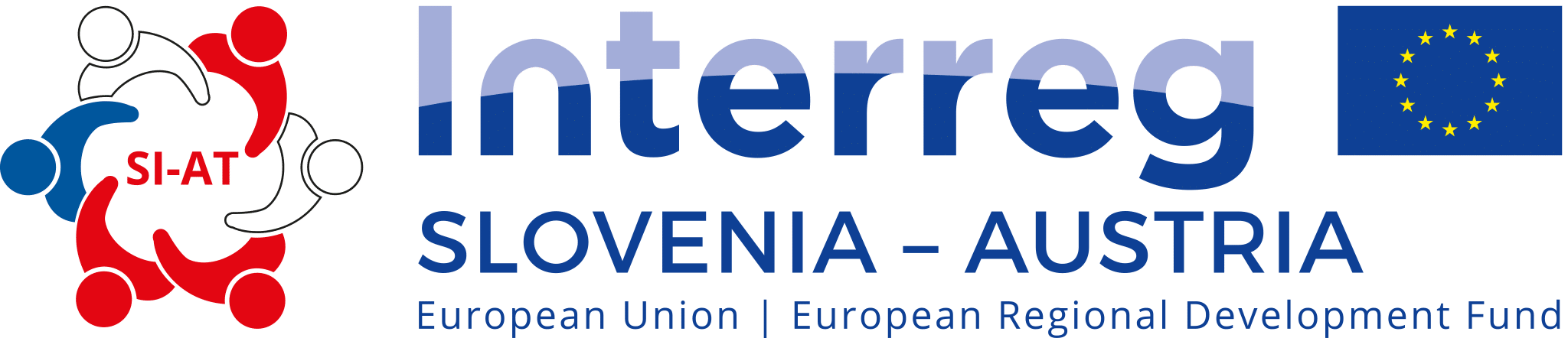 English logo of the Interreg program between Austria and Slovenia